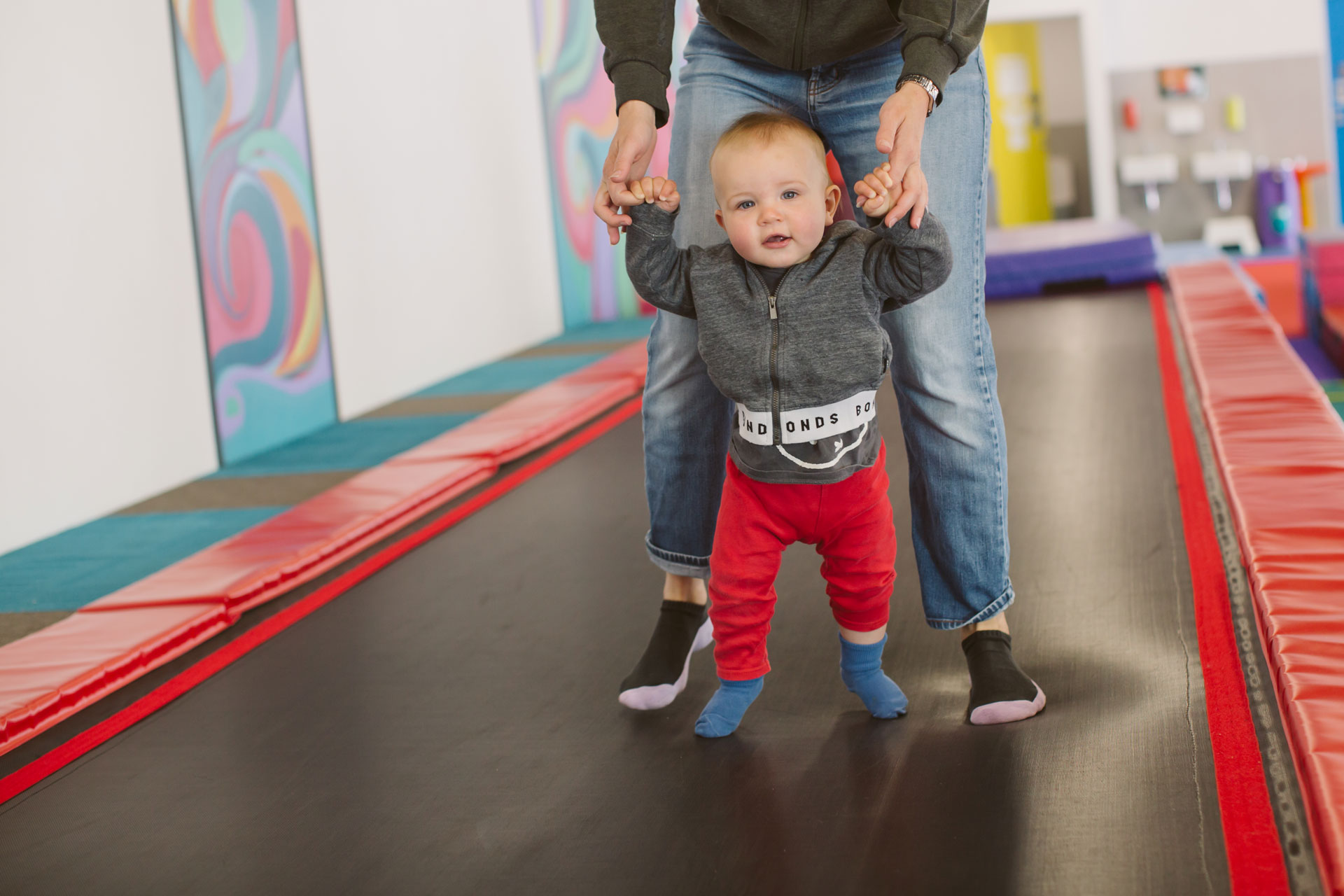 Baby gym, it's all about development!